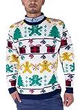 Lebkuchenmann Weihnachtspullover, Geschenke, Tannenbäume