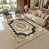 WUCONG Continental Teppich Wohnzimmer Sofa Couchtisch Schlafzimmer Schlafzimmer Bedside Home Rechteckige ländliche Amerikanische Maschine Waschbar (Farbe : B, größe : 80 * 120cm)