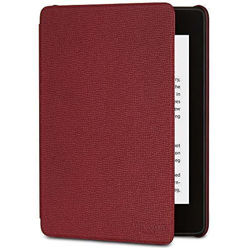 All-New Kindle Paperwhite Leather Amazon Cover (10th Gen), Merlot