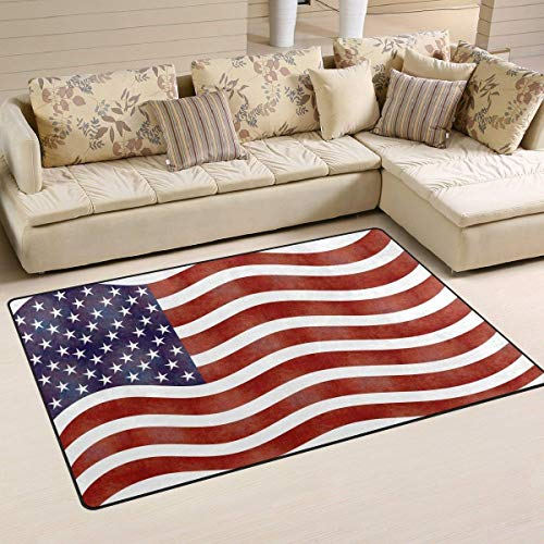 4adc6a1aa2a3b LINGVYTE The Stars and The Stripes Polyester Area Rug Entry Way Doormat  Multipattern Door Mat Floor Mats Shoes Scraper Home Dec Anti-Slip ...