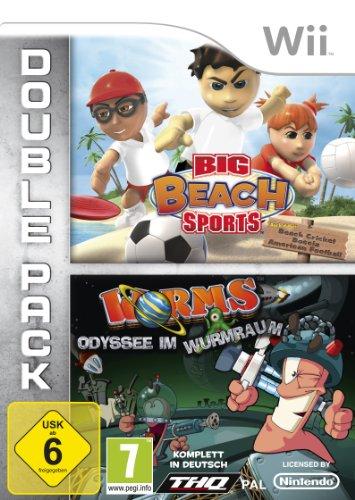 Big Beach Sports + Worms: Odyssee im Wurmraum - [Nintendo Wii] (Wii-big Beach Sports)