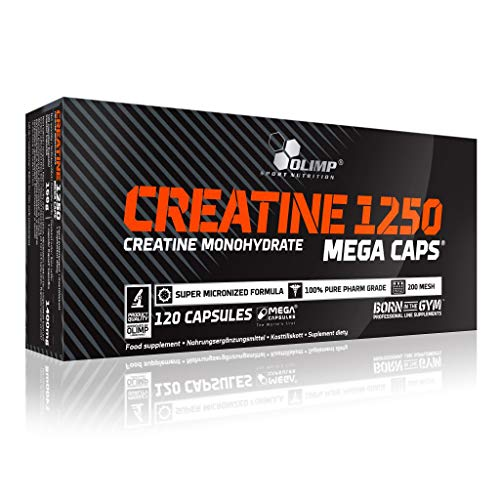 Olimp Creatine Mega Caps 2 x 120 Kapseln - Creatine-120 Caps