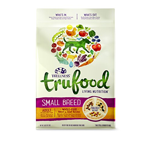 Bild: Wellness TruFood Baked Blends Natural Grain Free Dry Raw Small Breed Dog Food Chicken 10Pound Bag by Wellness Natural Pet Food