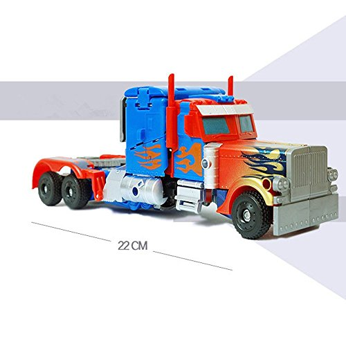 ZHD Transformers The Last Knight - Chivalry Optimus Prime Children's Toy Car Robot Container Truck Mode Fit for Age 6-16year (Transformer Prime Megatron-spielzeug)
