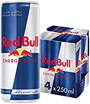 Red Bull Energy Drink, 250 ml (4 pack)