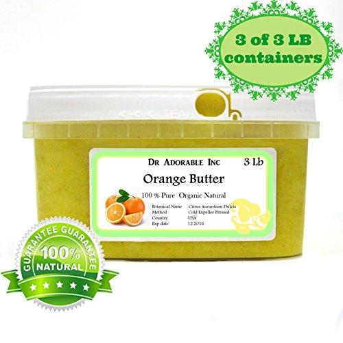 Orange Butter Organic 100% Pure 9 Lb
