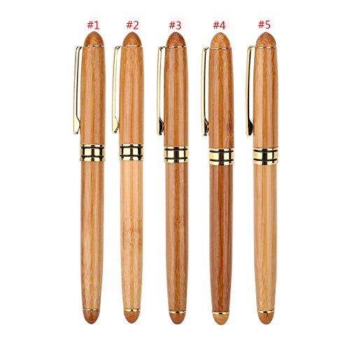Pluma estilográfica artística con punta de cincel para escribir caligrafía, gótico, árabe, italiano, regalo para los estudiantes de artistas caligráficos Paquete de 5