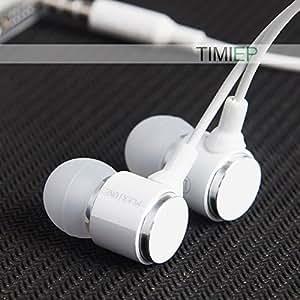 Téléphone mobile MU Plextone X34M X36M écouteurs dans l'oreille des écouteurs avec la basse métallique oreillette microphone pour MP3 MP4 Mobile, X34M Noir