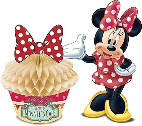 Centre de table Cupcake Minnie café