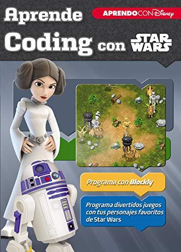 Aprende coding con Star Wars (Aprendo con Disney) por Disney