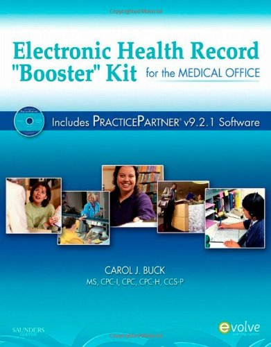 Electronic Health Record Booster Kit for the Medical Office with Practice Partner Electronic Control Kit