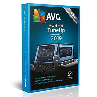 AVG TuneUp 2019 | Unbegrenzte Geräteanzahl | 1 Jahr | 2019 | Download [Lizenz]