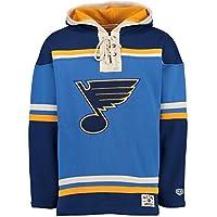 Old Time Hockey St. Louis Blues Lacer Jersey Hooded NHL Sweatshirt c0c25ec88