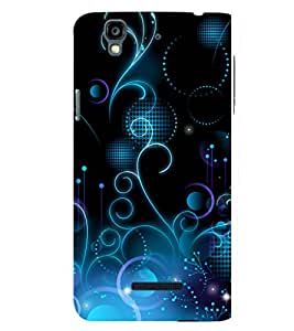 printtech Abstract Pattern Design Back Case Cover for YU Yureka Plus