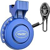 Elektrische Fietstoeter 120db USB Oplaadbare Waterdichte Fietsbel Fiets Elektronisch Stuur Barbell voor Mountain/Racefiets/Sc