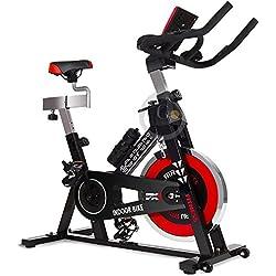 GOSPORT.IT Allenamento Spin Bike Cyclette AEROBICO Home Trainer, Bici da Fitness_Allenamento Spin Bike Cyclette AEROBICO Home Trainer, Bici da Fitness