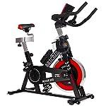 51Uyh2muq3L. SS150 GOSPORT.IT Allenamento Spin Bike Professionale Cyclette AEROBICO Home Trainer, Bici da Fitness_Allenamento Spin Bike…