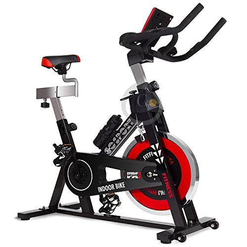 Allenamento Spin Bike Cyclette AEROBICO Home Trainer,...