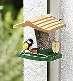 Vogelfutterhaus Vogelfutterstation für Fallrohre Futterstation Vögel Singvögel Haus
