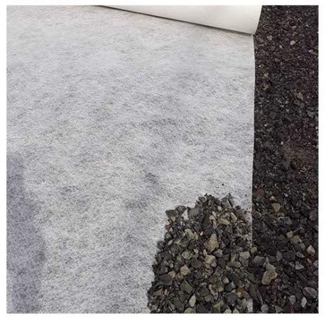 Atout Loisir Feutre géotextile 170 g/m² FGT170_3 - Longueur : 50 m Blanc