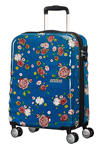 American Tourister Wavebreaker Floral Spinner 55/20 Bagaglio a Mano, 36 L, 55 cm 2,6 kg