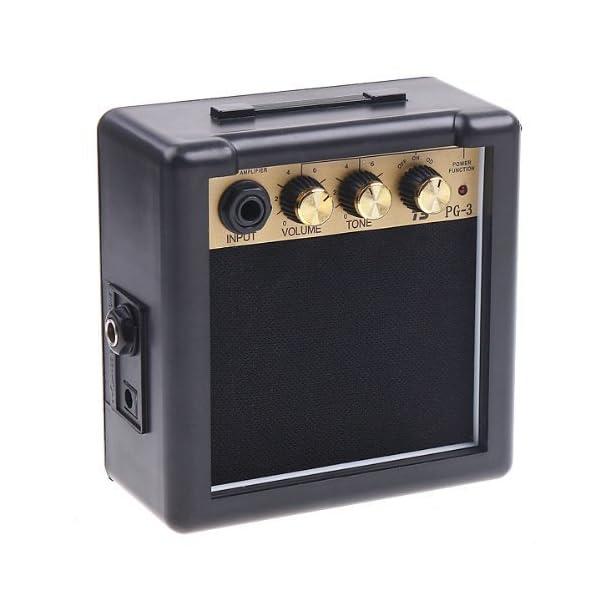 Andoer amp¨¨re della chitarra elettrica altoparlante tono del volume di controllo (PG-3 3W)