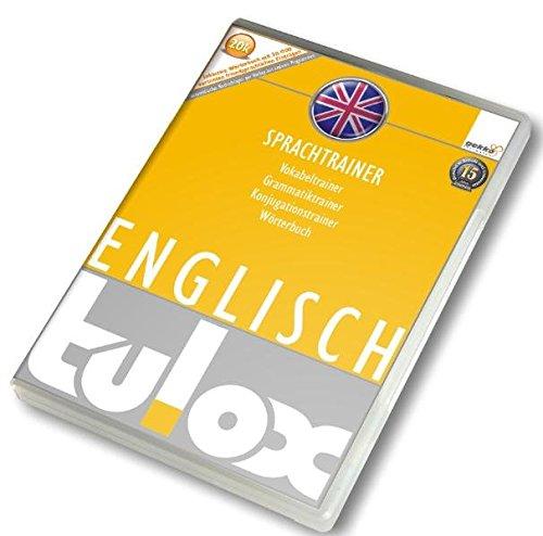 tulox Sprachtrainer Englisch - Vokabeltrainer, Konjugations- und Grammatiktrainer inklusive Wörterbuch mit 20.000 fremdsprachlichen vertonten Vokabeln