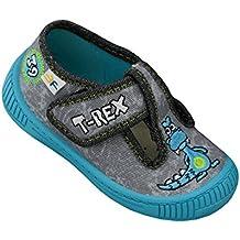 3f freedom for feet calzado para ninos pre-escolar deportes plantilla de cuero zapatos de velcro