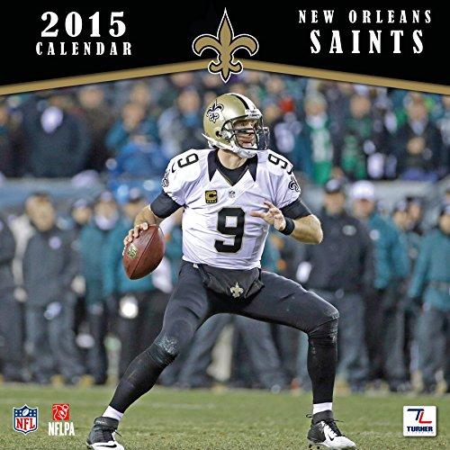 NFL Kalender Wandkalender 2015 30x60cm New Orleans Saints