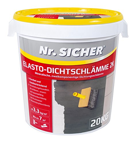 Nr.SICHER® Elasto-Dichtschlämme 2K 20kg