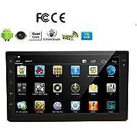 nucleo EinCar Quad capacitivo touchscreen 2 DIN Android 5.1 Nuovo universale autoradio doppio Auto No-DVD Player GPS di navigazione del precipitare video del PC autoradio WiFi Specchio link