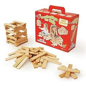 planchettes bois jouet construction dp BPEJETU