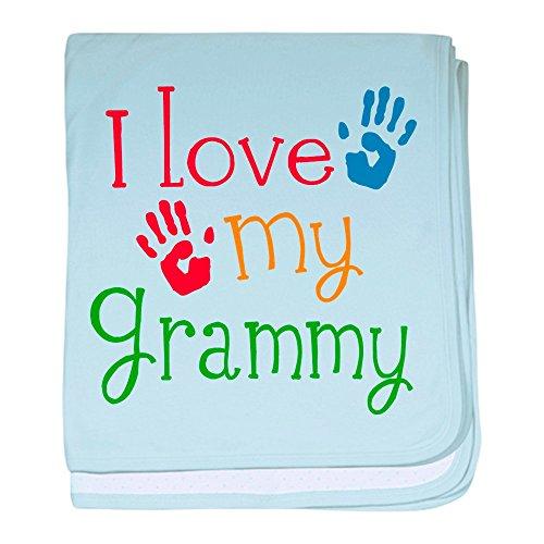 CafePress–I love Grammy Baby Decke–Baby Decke, Super Weich Für Neugeborene Wickeldecke, baumwolle, himmelblau, Standard