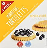 Produkt-Bild: 3 PAULY Mürbeteig Torteletts, 12er Pack (12 x 150 g)