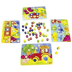 Goki- Juegos de acción y reflejosJuegos de mesaGOKIJuego de Dado de Colores, Multicolor (Gollnest & Kiesel 56705.0)