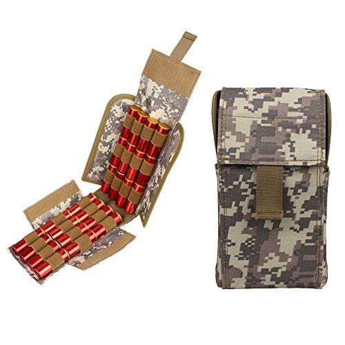 Kosibate - Bolsa MOLLE 25 cartuchos escopeta táctica