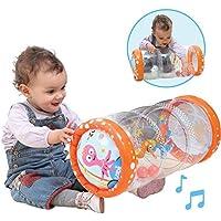 LUDI - Baby roller  40 x 25 x 20 cm dès 6 mois. Rouleau gonflable qui développe la motricité des enfants