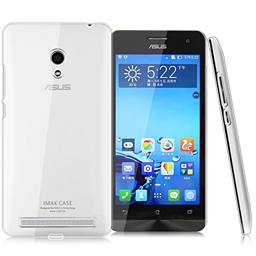 Jo Jo Imak Crystal Transparent Flip Hard Bumper Back Case Cover For Asus Zenfone 6 Clear  available at amazon for Rs.79
