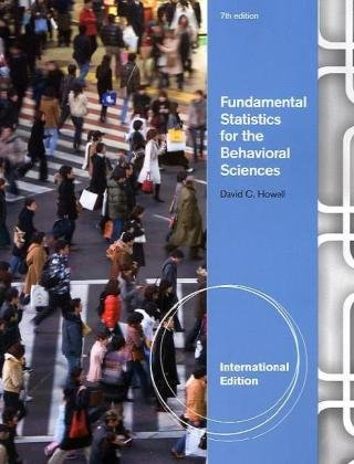 Fundamental Statistics for the Behavioral Sciences, International Edition