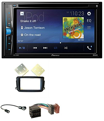 Dvd-player 2014 Für Pioneer Auto (Pioneer AVH-A200BT USB DVD 2DIN Bluetooth CD MP3 Autoradio für Smart ForTwo (2010-2015) ISO)