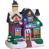 Décoration Magasin de Jouets pour Village de Noël Lumineux par Lights4fun