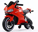 Toy House Ducati Panigale Bike Rechargeable Battery Operated Ride-on for Kids