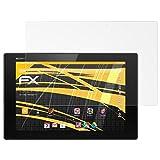 atFolix Schutzfolie für Sony Xperia Tablet Z2 Displayschutzfolie - 2 x FX-Antireflex blendfreie Folie