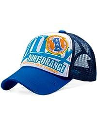 niki-orange® Milky Blau Trucker Mesh Cap Vintage Style