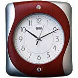 Ajanta 12 Inches Wall Clock For Home/Offces/Bedroom/Living Room/Kitchen (Step Movement, Red)