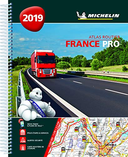 Atlas France Pro Michelin 2019 par Michelin