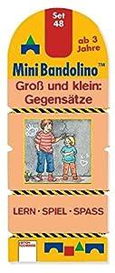 Arena Verlag GmbH Mini Bandolino Set 48. Groß und klein : Gegensätze: Lern - Spiel - Spass