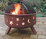 Landmann 28335 Big Sky Moons and Stars Fire Pit