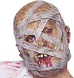 TK Gruppe Timo Klingler Halloween Maske Horror Mumie für Herren und Damen Masken (Mumie Maske)