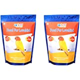 JiMMy Food For Lovebird - 900 GM Pack Of 2 - Total 1800 Gm - Bird Food